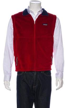 Patagonia Fleece Zip-Up Vest