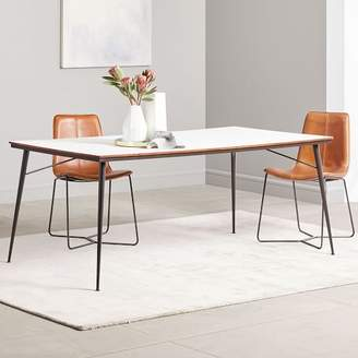 west elm Paulson Dining Table - White Laminate
