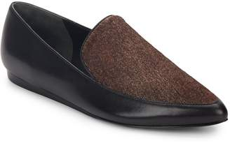 Vince Women's Nikita Calf Hair & Leather Point-Toe Loafers