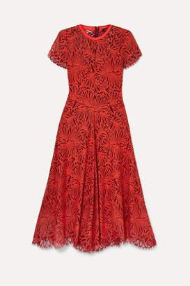 Proenza Schouler Lace Midi Dress - Red