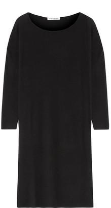 Elizabeth and James - Sienna Oversized Merino Wool-blend Dress - Black $435 thestylecure.com
