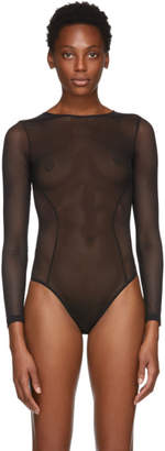 Stella McCartney Black Alice Singing Bodysuit