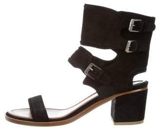 Laurence Dacade Suede Ankle Strap Sandals