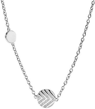 Fossil Chevron Glitz Necklace