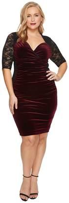 Kiyonna Hourglass Lace Dress Women's Dress