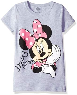Disney Little Girls' Toddler Minnie Mouse Short Sleeve T-Shirt