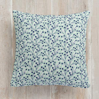 Vine and Berry Square Pillow