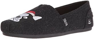 BOBS from Skechers Women's BOBS for Dogs Plush Slip-On Flat $16.47 thestylecure.com