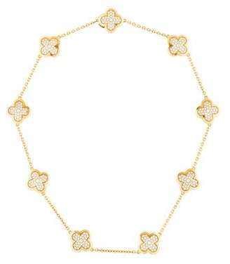 Van Cleef & Arpels Diamond Pure Alhambra Necklace
