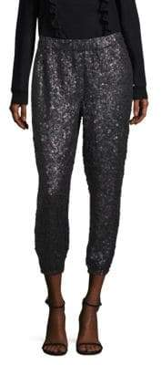 Joie Aife Sequin Jogger Pants