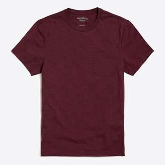 J.Crew Factory J.Crew Mercantile slim heathered washed pocket T-shirt