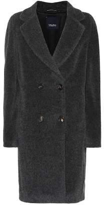 Max Mara S Rose alpaca and wool coat
