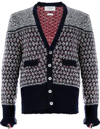 Thom Browne patterned cardigan