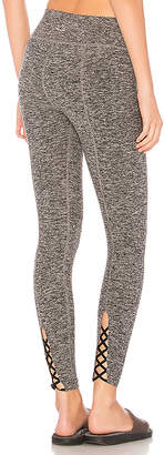 Beyond Yoga Cross It Back Midi Legging