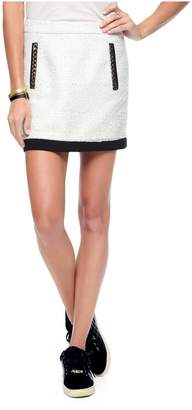 Juicy Couture Paper Tweed Skirt