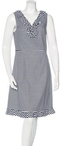 Kate Spade Kate Spade New York Striped Sleeveless Dress