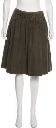 Dries Van Noten A-Line Knee-Length Skirt