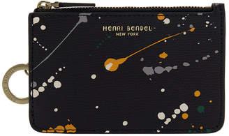 Henri Bendel West 57Th Splatter Paint Mini Zip Coin Purse