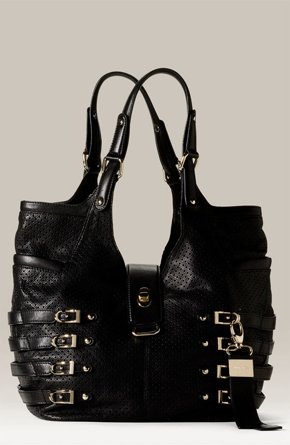 Jimmy Choo 'Bree' Perforated Leather Hobo