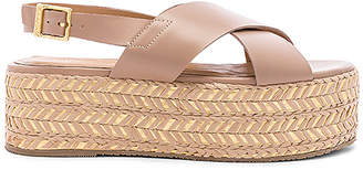 Kaanas Metalik Ada Cross Over Sandal