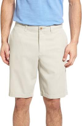Tommy Bahama Havana Herringbone Silk Blend Chino Shorts