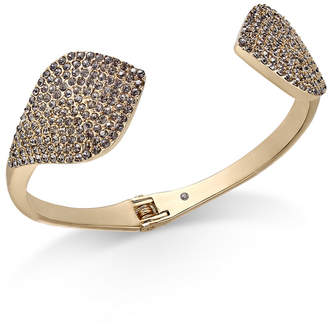 INC International Concepts I.N.C. Gold-Tone Crystal Cuff Bracelet, Created for Macy's