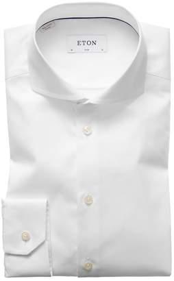Eton Extra Slim Fit Solid Dress Shirt