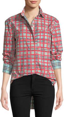 Burberry Saoirse Check Arm Shirt
