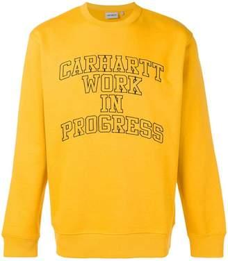 Carhartt Heritage logo print sweatshirt