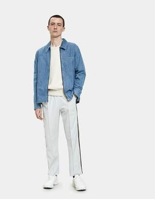 Our Legacy Reversible Sweatshirt in Light Grey Melange Sweat
