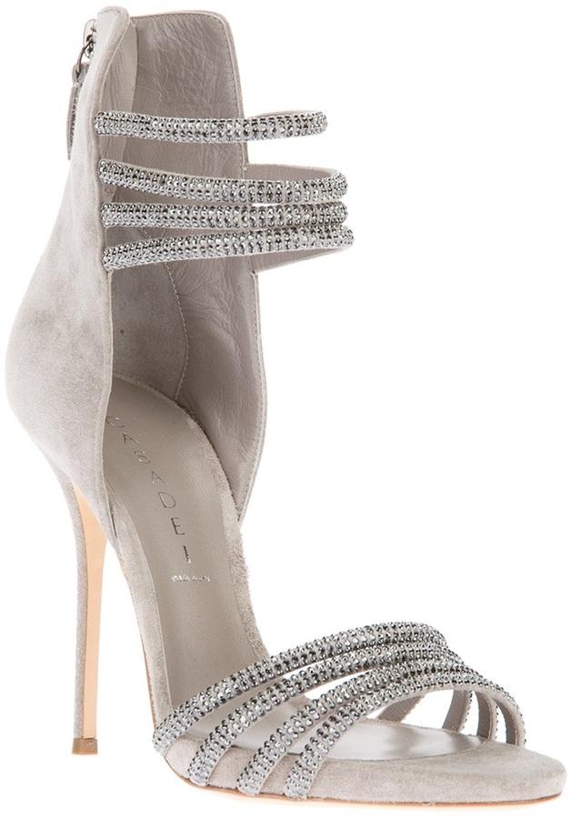 Casadei embellished stiletto sandal