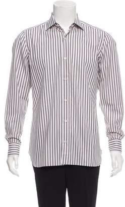 Borrelli Striped Button-Up Shirt w/ Tags