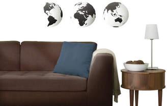 Umbra 3 Piece Mirrored Globe Wall Decor Set