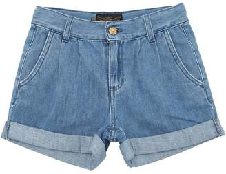 Finger In The Nose Stretch Cotton Denim Shorts