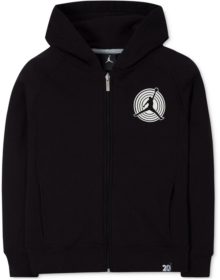 Jordan Zip-Up Hoodie, Big Boys (8-20)