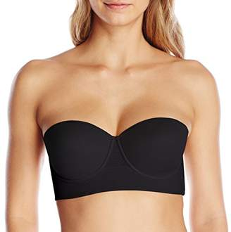 Annette Women's Strapless Control Bra with Extra Sides Support