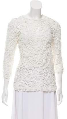 2000afe8aa833c Etoile Isabel Marant Long Sleeve Lace Top