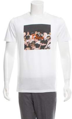 Christian Dior Dan Witz Embroidered T-Shirt