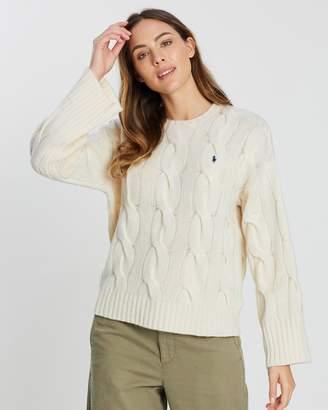 Polo Ralph Lauren Long Sleeve Crew Neck Pullover