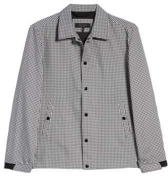 Rag & Bone Gingham Coach's Jacket