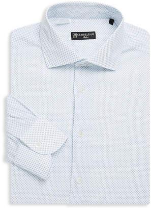 Corneliani Dot-Print Dress Shirt
