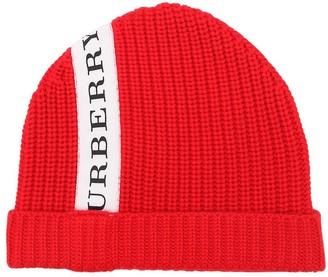 Burberry Extra Fine Merino Wool Knit Hat