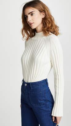 7dc6281f6e69 Winter White Turtleneck Sweater - ShopStyle