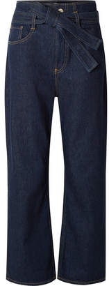 3x1 Kelly Belted Jeans - Dark denim
