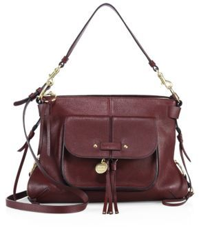 See by Chloe Olga Leather Hobo $525 thestylecure.com