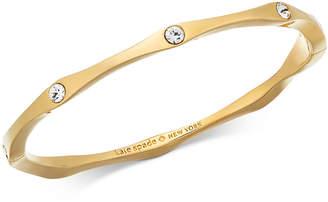 Kate Spade Pavé Wavy Bangle Bracelet