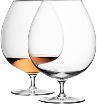 LSA International Bar Brandy Glasses