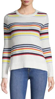 Design Lab Long Sleeve Striped Sweater