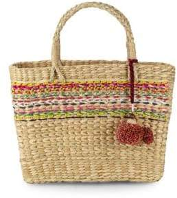 Julia Woven Basket Bag