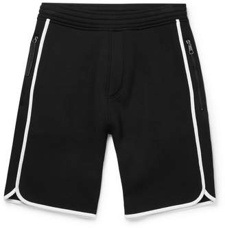 Neil Barrett Wide-Leg Neoprene Shorts